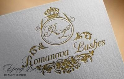 логотип лэшмейкера